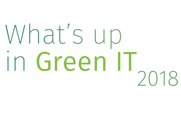 What's up in Green IT, 2018